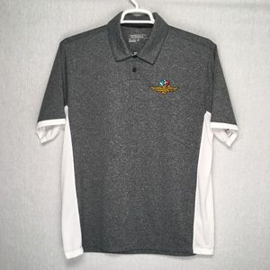 Nike Golf Indianapolis Motor Speedway mens polo L